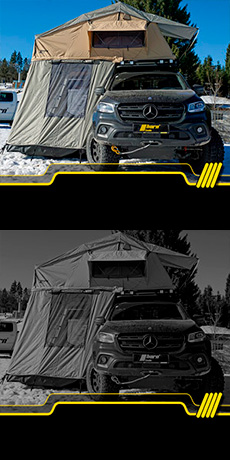 Mercedes X Camping