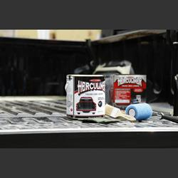 Herculiner coating 3,69l kit for cargo area gray