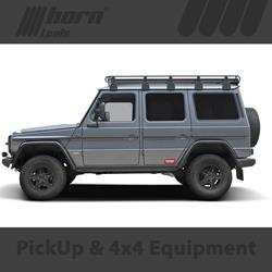 MERCEDES G461 300CDI Long Lift Kit Trekfinder for MERCEDES G Professional with KONI RAID Shock + 50 millimeters