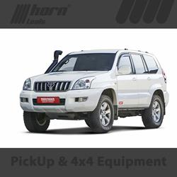 TOYOTA Land Cruiser type J12 Lift Kit Trekfinder for TOYOTA Land Cruiser J12 long with BILSTEIN B6 shock absorbers + 30 millimeters.