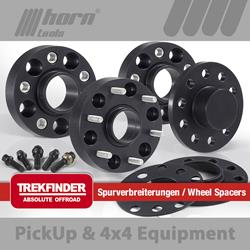 JEEP® Renegade type BU wheel spacer set Trekfinder for JEEP® Renegade BU 4WD + 10 millimeters
