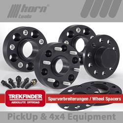 JEEP® Renegade type BU wheel spacer set Trekfinder for JEEP® Renegade BU 4WD + 42 mm