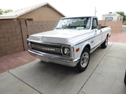 Chevrolet C20 1970 Pickup  WHITE