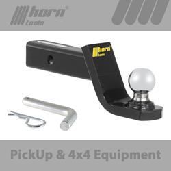 2 inch Ball mount Kit with chreom plated Ball 50mm