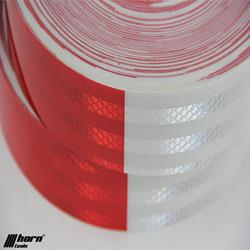 Reflective Film red white 10m