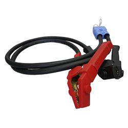 Cable 6m 35mm2 Coppercable with plug and Battery Clamp