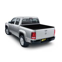 Tonneau Cover Alu black VW Amarok Double Cab 2011-