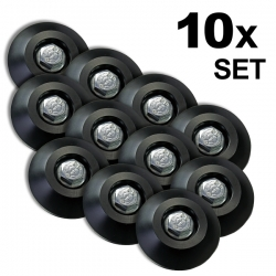 Screw Slider 10ocs Set Protector Slidepad M8 for Skid Plates Bolt Head