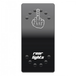 Rocker Switch Cover Rea Lights horntools Offroad Switch