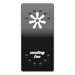 Rocker Switch Cover Cooling Fans horntools Offroad Switch