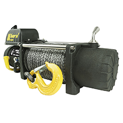 Alpha 12.0 winch 5.4 t 24 V synthetic rope