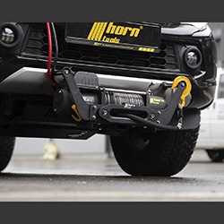 Alpha 9.9 winch mobile set for Jeep Wrangler JK 2007+ 4.3 t