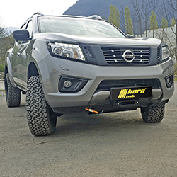 Alpha 9.9 ROCK winch set for Nissan Navara NP300