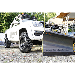 VW Amarok Bodylift Rock Slider Aluminium 2016+