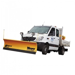 Snowplow System Mercedes Sprinter from 2013 DP Schne 203cm DrivePro Aebi Schmidt Meyer