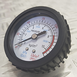 Air hose gauge rubber cover