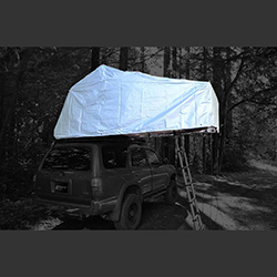 Roof Tent Top Weather Hood 120cm Desert I