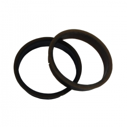 center rings plastic finish 2 units