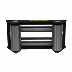 roller fairlead for winch model HPB5000, stainless steel